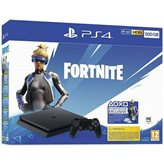 Igraća konzola SONY PlayStation 4, 500GB black F Chassis, Fortnite VCH (2019)