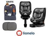 Autosjedalica LIONELO Antoon, i-Size R129, 360°, ISOFIX, 0-18kg., crna
