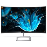 "Monitor 27"" LED PHILIPS 278E9QJAB, 4ms, 250 cd/m2, 20.000.000:1, D-SUB, HDMI, DP, Curved, crni-srebrni"
