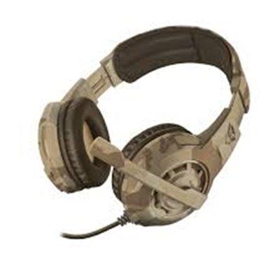 Slušalice TRUST GXT 310D RADIUS, Desert Camo