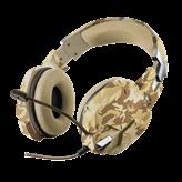 Slušalice TRUST GXT 322D CARUS, Desert camo