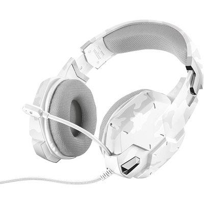 Slušalice TRUST GXT 322W CARUS, White camo