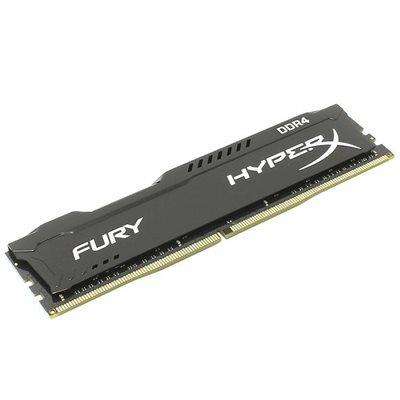 Memorija PC-21300, 16 GB, KINGSTON HyperX Fury Black HX426C16FB2/16 DDR4 2666MHz