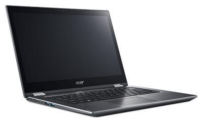 "Prijenosno računalo ACER Spin 3 NX.GUWEX.009 / Core i3 70200U, 8GB, 256GB SSD, HD Graphics, 14"" LED Touch FHD, Windows 10, sivo"