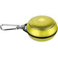 Zvučnik GENIUS SP-906BT, bluetooth, mikrofon, zlatni