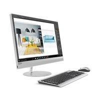 """Računalo AiO LENOVO IdeaCentre 520 F0DE001PSC / Quad Core i5 8400T, 8GB, 1000GB+128GB, RX550 4GB, 27"""" QHD, tipkovnica, miš, DOS, srebrno"""