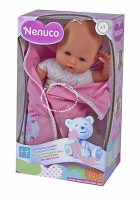Igračka FAMOSA 700012123, Nenuco beba Newborn, sa zvukovima i pokrivačem