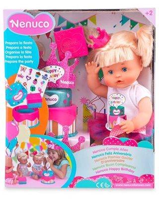 Igračka FAMOSA 700014047, Nenuco beba hapy birthday sa rođendanskom tortom