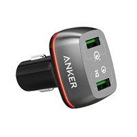 Auto punjač ANKER PowerDrive+ 2, A2224H11, 2 USB 3.0 priključka, crni