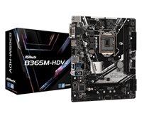 Matična ploča ASROCK B365M-HDV, Intel B365, DDR4, mATX, s. 1151