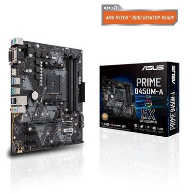 Matična ploča ASUS PRIME B450M-A/CSM, AMD B450, mATX, s. AM4
