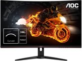 "Monitor 31,5"" AOC CQ32G1, 144Hz, 1ms, 300cd/m2, 80000000:1, FreeSync, curved, crni"