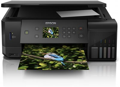 Multifunkcijski uređaj EPSON EcoTank L7160, printer/scanner/copy, 5760 dpi, LAN, USB, WiFi