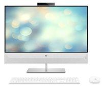"Računalo AiO HP 27-xa0011ny 5QX48EA / Hexa Core i7 8700T, 16GB, 2000GB + 256GB SSD, GeForce MX130, 27"" LED FHD, tipkovnica, miš, DOS, bijelo"