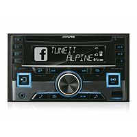 Auto radio ALPINE CDE-W296BT (Bluetooth, USB, CD, iPhone, ANDROID)