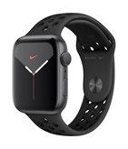 Pametni sat APPLE Watch Nike Series 5 GPS, 44mm, sivi aluminijski okvir sa antracitom, crna Nike sportska narukvica, S/M & M/L - PREORDER