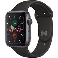 Pametni sat APPLE Watch Series 5 GPS, 44mm, sivi aluminijski, crna sportska narukvica, S/M & M/L - PREORDER