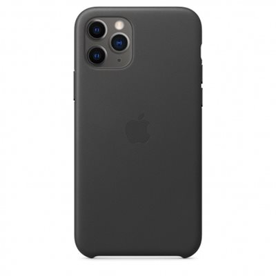 Futrola APPLE Leather Case, za IPHONE 11 Pro, crna
