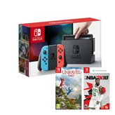 Igraća konzola NINTENDO Switch, Red & Blue Joy-Con HAD, NBA 2K18, Unravel Two