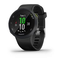 Sportski sat GARMIN Forerunner 45, GPS, za trčanje, senzor pulsa na zapešću, crni
