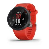 Sportski sat GARMIN Forerunner 45, GPS, za trčanje, senzor pulsa na zapešću, crveni