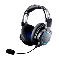 Slušalice AUDIO-TECHNICA Wireless Gaming ATH-G1WL, WiFi, crne