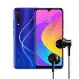 """Smartphone XIAOMI Mi 9 Lite, 6.39"""", 6GB, 128GB, Android 9.0, plavi + poklon slušalice"""