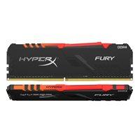 Memorija PC-21300, 16 GB, KINGSTON HyperX Fury RGB HX426C16FB3AK2/16 DDR4 2666MHz, kit 2x8GB