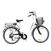 """Električni bicikl XPLORER City Flow, kotači 26"""", bijeli"""