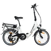 """Električni bicikl XPLORER City Vibe, kotači 20"""", bijeli"""
