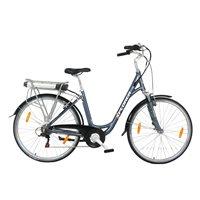 "Električni bicikl XPLORER Silver Line Lady, kotači 26"", srebrni"