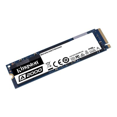 SSD 500.0 GB KINGSTON A2000 SA2000M8/500G, M.2/NVMe, 2280, maks 2200/2000 MB/s