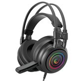 Slušalice RAMPAGE RM-K2 X-QUADRO RGB, za PC/PS4/Xbox, 7.1, USB, crne
