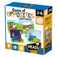Slagalica HEADU Game of Opposites, igra suprotnosti, 32 komada