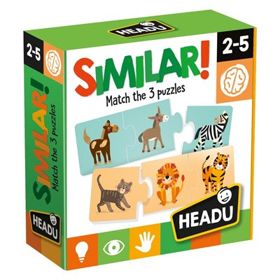 Slagalica HEADU Similar, igra sličnosti, 36 komada