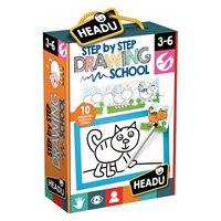 Slagalica HEADU Drawing School, Učenje crtanja, korak po korak