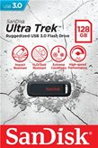 Memorija USB 3.0 FLASH DRIVE, 128 GB, SANDISK Ultra Trek, SDCZ490-128G-G46