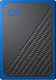 SSD vanjski 500 GB WESTERN DIGITAL My Passport Go, WDBMCG5000ABT--WESN, 400 MB/s, USB 3.1, crno-plavi