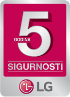 Picture of LG 5 godina sigurnosti za UHD LED TV!