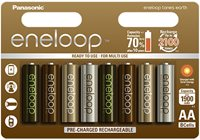 Baterija PANASONIC Eneloop Earth limited BK3MCCE8UE, tip AA, punjive, 1900 mAh 8kom