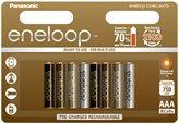 Baterija PANASONIC Eneloop Earth limited BK4MCCE8UE, tip AAA, punjive, 750 mAh 8kom