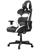 Gaming stolica GAMDIAS ZELUS E1 L BW, 2D, crno-bijela