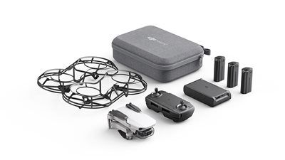 Dron DJI Mavic Mini Fly More Combo, 2K kamera, 3-axis gimbal, vrijeme leta do 30min, upravljanje daljinskim upravljačem, dodatna oprema, bijeli - Preorder