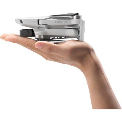 Dron DJI Mavic Mini, 2K kamera, 3-axis gimbal, vrijeme leta do 30min, upravljanje daljinskim upravljačem, bijeli - Preorder