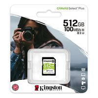 Memorijska kartica KINGSTON Canvas Select Plus SDS2/512GB, SDXC 512GB, Class 10 UHS-I
