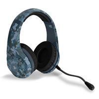 Slušalice 4GAMERS PRO4-70 Camo Midnight Navy, za PS4, plave s uzorkom