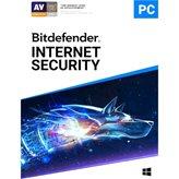 BITDEFENDER Internet Security 2020, godišnja pretplata za 3 korisnika, retail