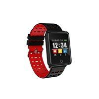 Sportski sat MEANIT Smart watch M7, HR, pametne obavijesti, crno/crvena i crno/plava narukvica