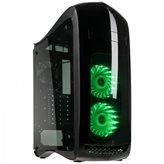 Kućište USED KOLINK Punisher RGB, MIDI, ATX, Window, crno, USB 3.0, bez napajanja-a