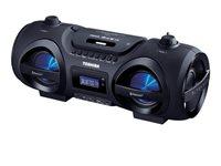 Prijenosni audio sustav TOSHIBA TY-CWU500, BT, FM, CD, USB, disco LED